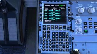 Let's Fly FMC/MCDU Basic Tutorial Airbus X Extended - English Version
