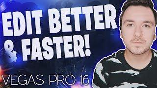 Vegas Pro 16: How To Edit Better & Faster - Tutorial #369