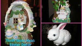 Thrift Store Haul: Easter Decor