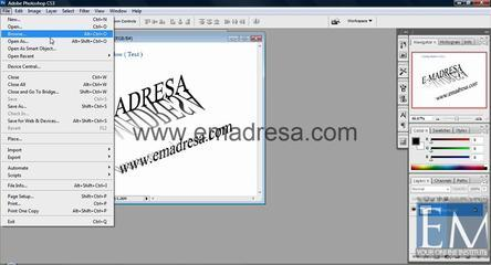 Browse Basic Photoshop Tutorials In URDU, Hindi By Emadresa