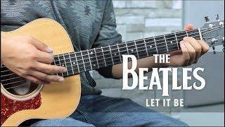 "Como tocar ""Let It Be"" de The Beatles - Tutorial Guitarra FÁCIL"