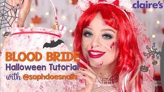 Blood Bride Halloween Tutorial with Soph Does Nails #GhoulPower