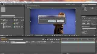 تعليم برنامج افتر افكت - الدرس 1 - الواجهة الرئيسية HD