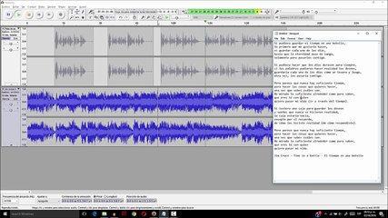 Audacity tutorial ¿Comó combinar dos pistas de audi