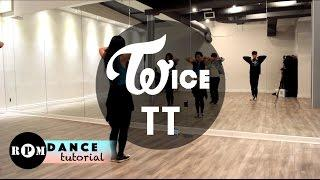 "Twice ""TT"" Dance Tutorial (Pre-Chorus, Chorus)"