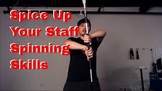 Spice Up Your Staff Spinning - Beginner Tutorial  Extensions and Isolations