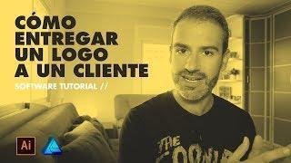 Cómo ENTREGAR un LOGO a un CLIENTE / Illustrator Affinity Tutorial // Marco Creativo