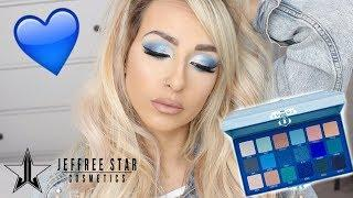 JEFFREE STAR BLUE BLOOD PALETTE | REVIEW, TUTORIAL, FIRST IMPRESSIONS