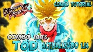 GUIA - COMBO TUTORIAL - COMBO 100% TRUNKS ACTUALIZADO 1.14 - TOD - Dragon Ball FighterZ