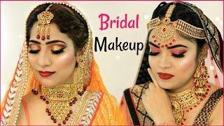 Indian Bridal Makeup Challenge ..   #Beauty #Wedding #Tutorial #Hacks #Anaysa