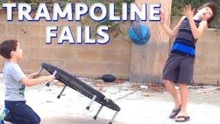 ULTIMATE TRAMPOLINE FAILS! New Weekly Funny Videos From Snapchat & More! | Win Fail Fun July 2018