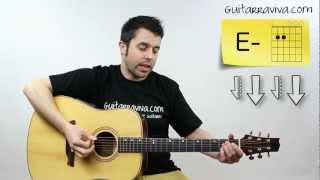 POLLITO PIO GUITARRA TUTORIAL ACORDES PULCINO PIO TAB Guitar Español Como Tocar