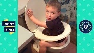 TRY NOT TO LAUGH or GRIN: Funny Kids Fails Compilation 2017 | Funny Vine