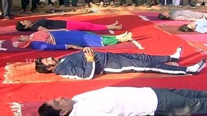 Balakrishna Funny Yoga