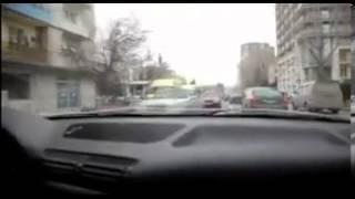 Hair Raising Footage Of Georgian Stunt Street Drivers.