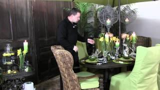 How To Decorate A Easter/Spring Party Table - Trees N Trends - Unique Home Decor