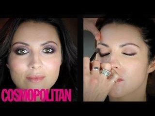 Cosmo beauty tutorial how to: dramatic daytime makeup