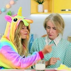10 Funny Unicorn And Granny Pranks / Prank Wars! Full video: