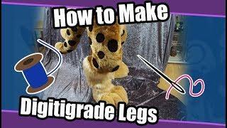 //Tutorial #53// Digitigrade Legs For Partial Fursuits
