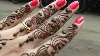 Mehendi Tutorial :Indian Indo Arabic Festival Henna Mehndi-New Bridal Mehendi 2013