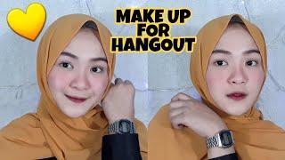 Make Up For Hangout   Tutorial Simple MakeUp -Sofirosfi