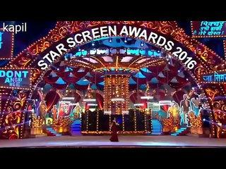 Kapil Sharma Most Funny in Star Screen Awards 2016