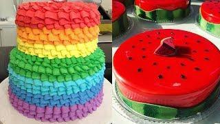 the Most Beautiful Homemade Cake Decorating Ideas - Amazing Chocolate Cakes Decorating Tutorial