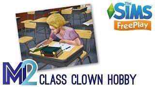 Sims FreePlay - Class Clown Hobby (Tutorial & Walkthrough)