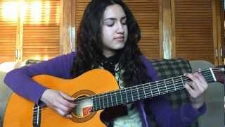 Como Tocar Little Things One Direction Tutorial Guitarra Acustica (Español-facil)