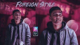 DRAMATIC LOOK | Picsart Clothes Change & Lightroom Tutorial in Hindi