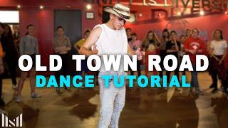 OLD TOWN ROAD - Lil Nas X & Billy Ray Cyrus Dance Tutorial | Matt Steffanina