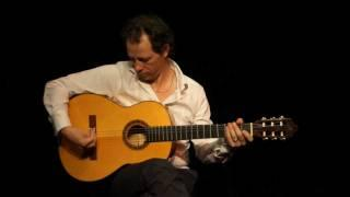 Flamenco Spanish Guitar .Right Hand Tutorial English Version.Mathilda's Rumba By Yannick Lebossé