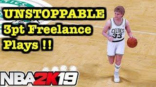 NBA 2K19 Best Offense Tutorial UNSTOPPABLE Money Plays 2K19 Best Freelance Offense Sets #12