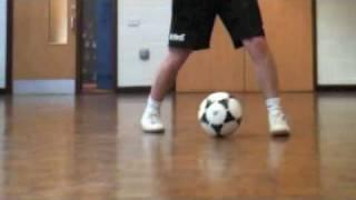 Learn To Do The Heel Toe Fake Pass - Soccer Football  Skills Tricks