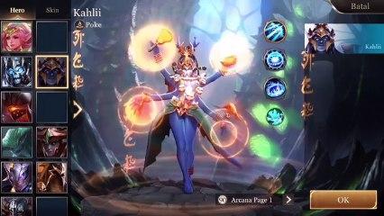 "Guide dan Tutorial ""KAHLI"" || Arena Of Valor"