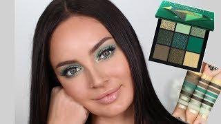 Huda Beauty Emerald Obsessions Palette Tutorial! \ Chloe Morello