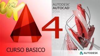 AutoCAD 2014, Tutorial Introducir Ordenes Y Comandos, Curso Basico Español Capitulo 4