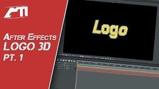 Tutorial After Effects Português - Como Criar Uma Intro Com Logo 3D (Parte 1)