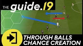 FIFA 19 LOW THROUGH BALL CHANCE CREATION TUTORIAL! How to get the PERFECT TIMING for deep passes