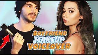 BOYFRIEND Does My VOICEOVER // Kiingtong Makeup Tutorial