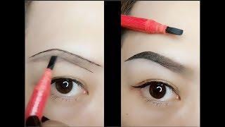 Hướng dẫn kẻ chân mày | Eyebrow Tutorial | Easy Eyebrow Tutorial Ror Beginners | Part 6