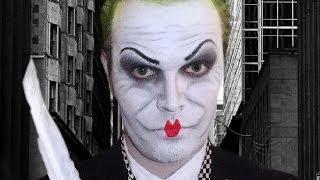 The Joker - Jack Nicholson - Mime -  Makeup Tutorial!