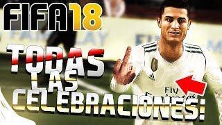 FIFA 18 - TODAS LAS CELEBRACIONES Y CELEBRACIÓN SECRETA | TUTORIAL