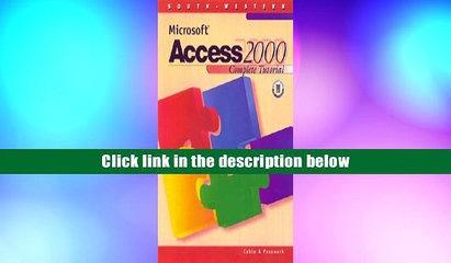 Audiobook  Microsoft Access 2000 Complete Tutorial Sandra Cable For Kindle