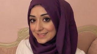 Simple Easy Hijab Tutorial