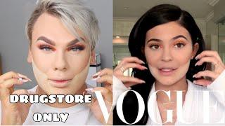 KYLIE JENNERS VOGUE TUTORIAL: DRUGSTORE EDITION!