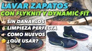 LAVAR ZAPATOS CON FLYKNIT Y DYNAMIC FIT | TUTORIAL  |