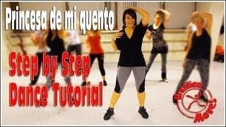 Sergio Contreras - Princesa De Mi Cuento - Dance Routine Tutorial Steps