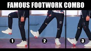 3 Famous Dance Moves | Footwork Tutorial in Hindi | Simple Hip Hop steps for beginners