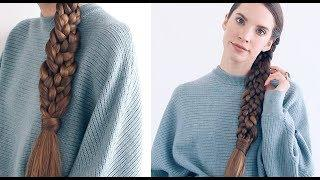 BRAIDED BRAID HAIRSTYLE TUTORIAL!